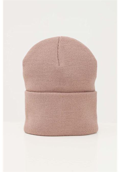 Beige unisex cap by carhartt with front logo CARHARTT | Hat | I020222.060FE.XX
