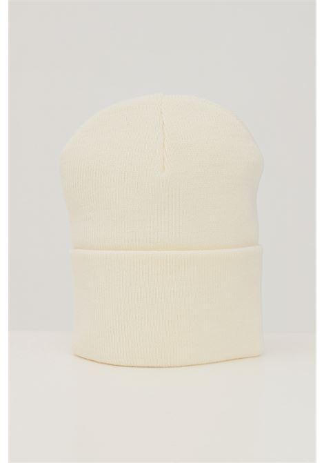 Cream unisex cap by carhartt with front logo CARHARTT | Hat | I020222.06D6.XX