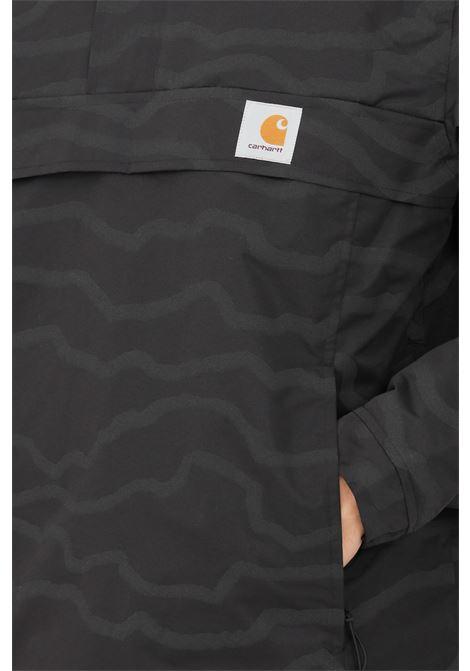 Giubbotto nimbus pullover uomo nero carhartt con cappuccio CARHARTT | Giubbotti | I028435.030HM.XX
