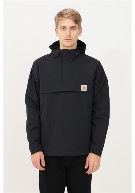 Giubbotto nimbus pullover uomo nero carhartt con cappuccio CARHARTT | Giubbotti | I028435.0389.XX