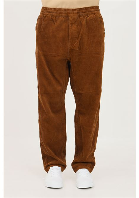 Pantaloni uomo marrone carhartt casual a costine CARHARTT | Pantaloni | I029443.030EP.02