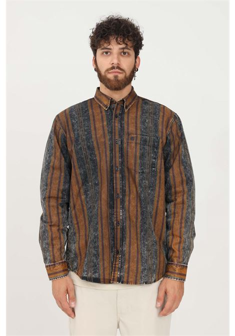 Camicia uomo fantasia carhartt modello casual con stampa righe CARHARTT | Camicie | I029476.030KX.CM