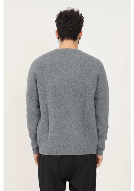 Maglione uomo grigio carhartt con maxi logo frontale CARHARTT | Maglieria | I029515.030HX.XX