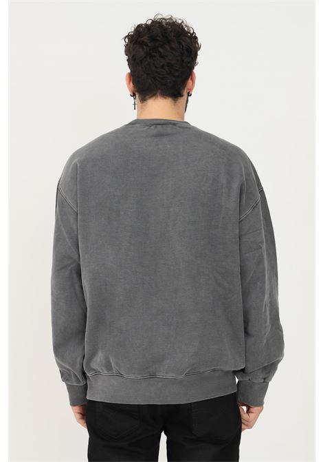 Felpa grigio in tessuto pesante da uomo carhartt modello girocollo CARHARTT | Felpe | I029522.0326.XX
