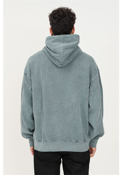 Felpa verde in tessuto pesante da uomo carhartt con cappuccio CARHARTT | Felpe | I029523.030ER.XX