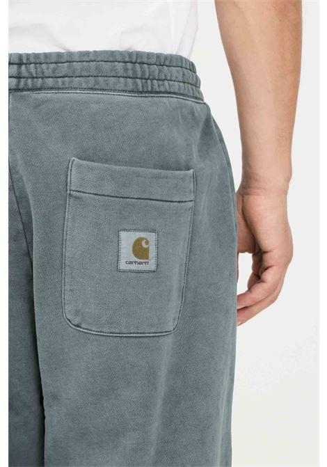 Pantaloni uomo verde carhartt modello casual con elastico in vita CARHARTT | Pantaloni | I029525.030ER.XX