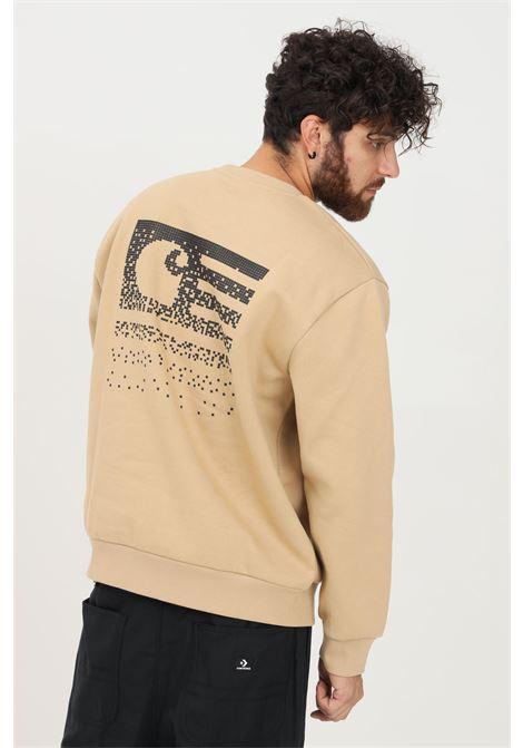 Felpa uomo beige carhartt modello girocollo CARHARTT | Felpe | I029528.030IA.XX