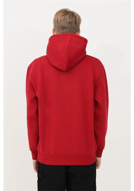 Felpa uomo rosso carhartt con cappuccio CARHARTT | Felpe | I029529.030EU.XX