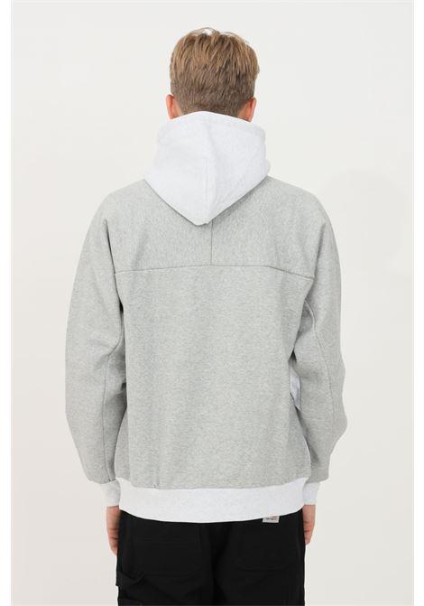 Felpa hooded tonare uomo grigio carhartt con cappuccio CARHARTT | Felpe | I029575.030JU.XX