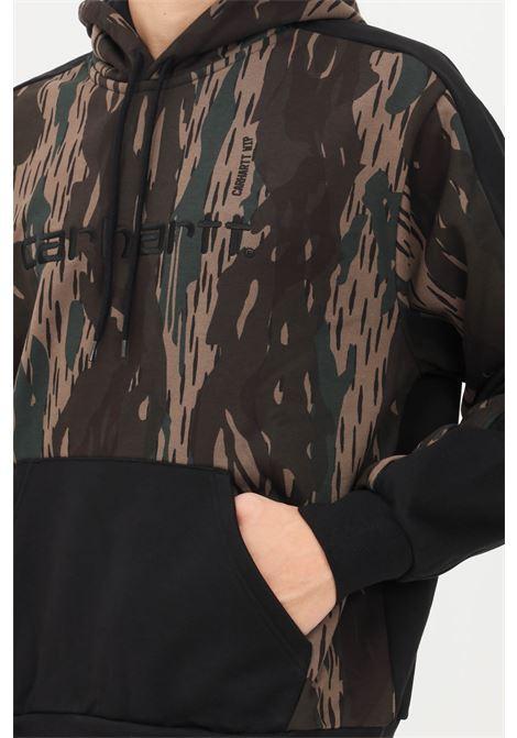 Felpa hooded tonare uomo camo carhartt con cappuccio CARHARTT | Felpe | I029575.030JX.XX
