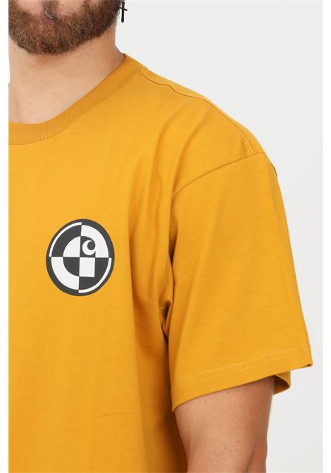T-shirt uomo arancio carhartt a manica corta CARHARTT | T-shirt | I029611.030ES.XX