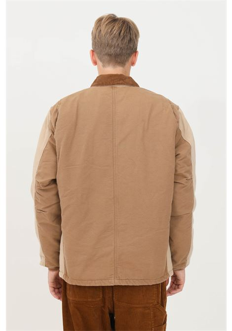 Giubbotto artic uomo beige carhartt con zip CARHARTT | Giubbotti | I029769.030ID.3K