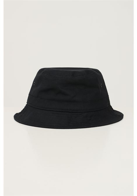 Black unisex bucket by carhartt modello bucket with embroidered logo in contrast CARHARTT | Hat | I029937.040D2.XX