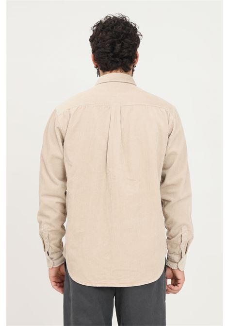 Camicia uomo beige cp company a costine CARHARTT | Camicie | I029958.03AW.XX