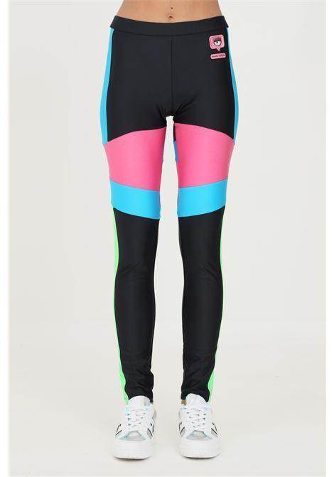 Multicolor leggings by chiara ferragni high waist model CHIARA FERRAGNI | Leggings | 71CBC106N0008899