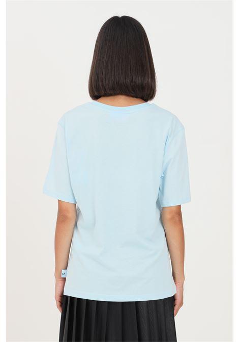 T-shirt donna azzurro chiara ferragni a manica corta CHIARA FERRAGNI   T-shirt   71CBHT01CJC0T216