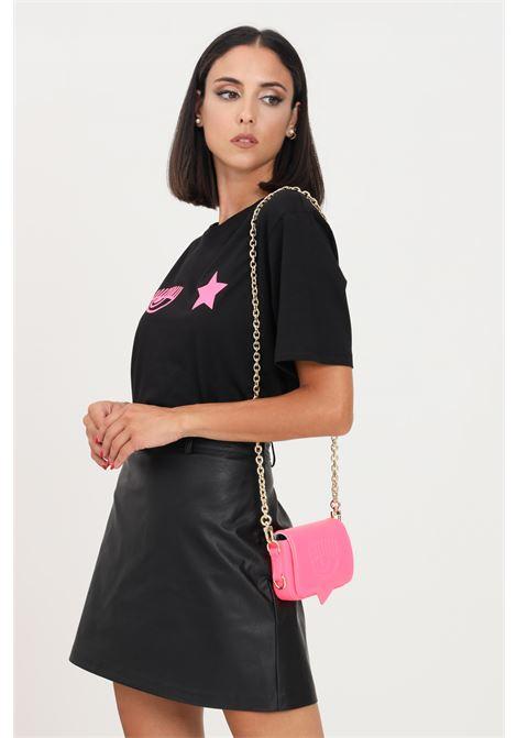 T-shirt donna nero chiara ferragni a manica corta CHIARA FERRAGNI   T-shirt   71CBHT03CJC0T899