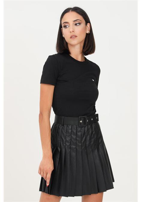 T-shirt donna nero chiara ferragni a manica corta CHIARA FERRAGNI   T-shirt   71CBHT09CJC0T899