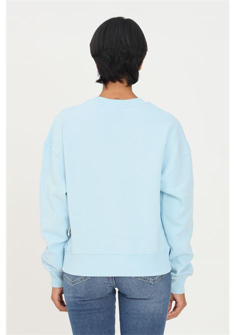 Light blue sweatshirt by chiara ferragni crew neck model with inner pail CHIARA FERRAGNI | Sweatshirt | 71CBIT01CFC0T216