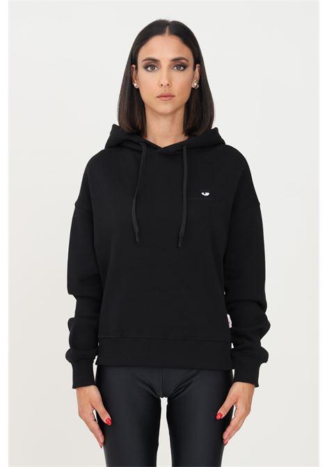 Black women's hoodie by chiara ferragni CHIARA FERRAGNI | Sweatshirt | 71CBIT09CFC0T899
