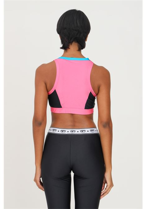 Pink top by chiara ferragni short and casual model CHIARA FERRAGNI | Top | 71CBM260N0008414