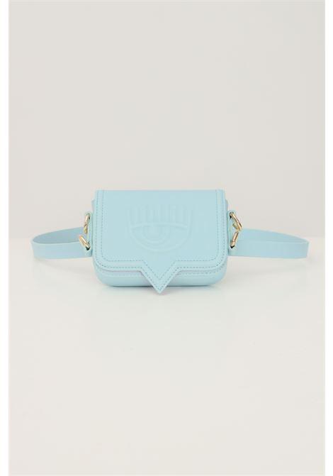 Light blue women's bag by chiara ferragni with shoulder strap CHIARA FERRAGNI | Bag | 71SB4BA1ZS132216