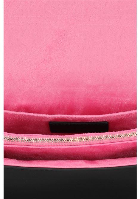 Black women's eyelike bag by chiara ferragni with shoulder strap  CHIARA FERRAGNI | Bag | 71SB4BA3ZS132899