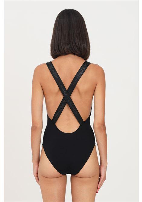 Body donna nero chiara ferragni casual con stampa frontale CHIARA FERRAGNI | Body | A600432241113