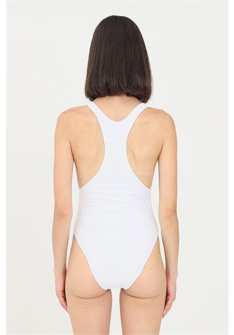 Body costume donna bianco chiara ferragni con logo occhio e stella frontale CHIARA FERRAGNI | Beachwear | A810252110001