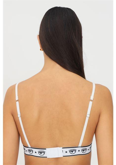 White bralette by chiara ferragni with elastic logo waistband CHIARA FERRAGNI | Bralette | V460232240001
