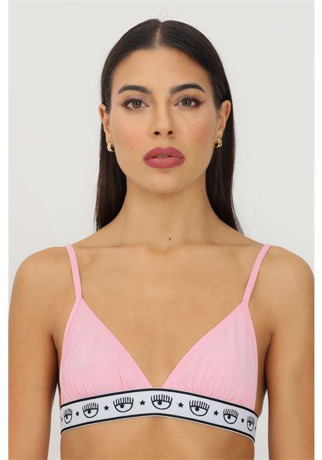 Pink bralette by chiara ferragni with elastic logo waistband CHIARA FERRAGNI | Bralette | V460232240242