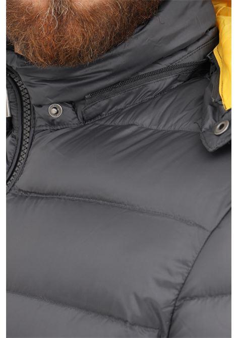 Piumino uomo grigio ciesse con cappuccio CIESSE | Giubbotti | 213CFMJ01484-N021D09646XP
