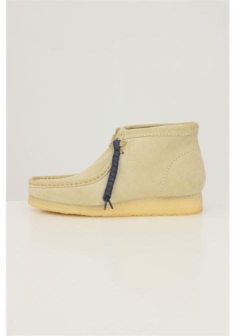 Beige men's clarks originals wallabee boots  CLARKS | Party Shoes | 1555160001
