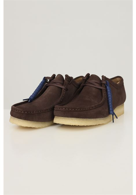 Brown men's wallabee shoes by clarks CLARKS | Party Shoes | 1566060001