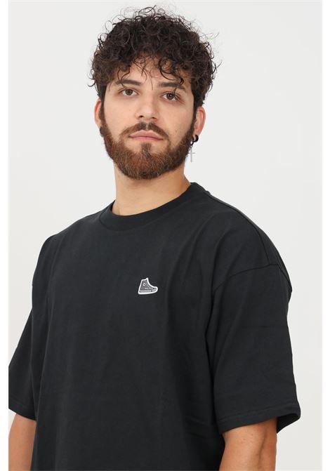 Black men's t-shirt by converse short sleeve CONVERSE | T-shirt | 10020931.
