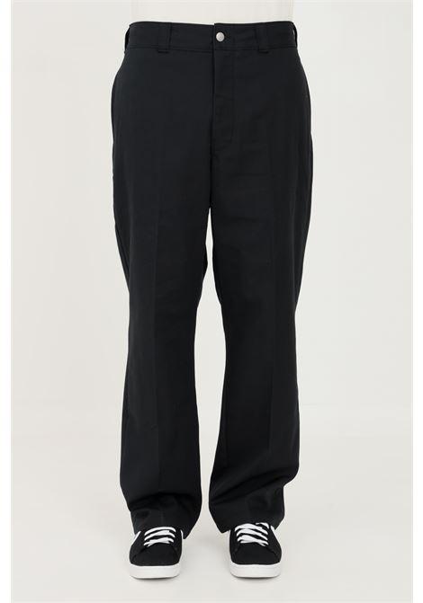 Black men's trousers by converse casual model CONVERSE | Pants | 10021638-A01.