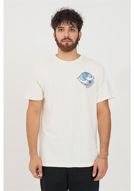 T-shirt uomo panna converse a manica corta CONVERSE | T-shirt | 10022044-A02.