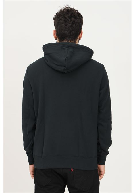 Black men's hoodie by converse CONVERSE | Sweatshirt | 10023305-A02.