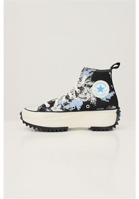 Sneakers run star hike floral fusion donna blu converse CONVERSE | Sneakers | 171398C174