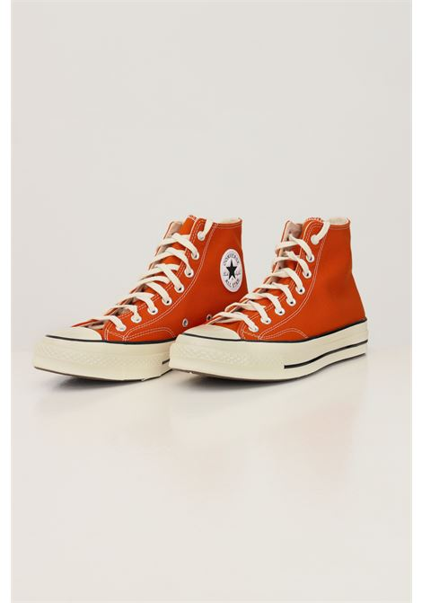 Orange men's chuck 70 Recycled Hi sneakers by converse CONVERSE | Sneakers | 171475C145