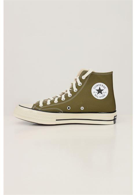 Green men's chuck 70 hi dark sneakers by converse CONVERSE | Sneakers | 171565C134