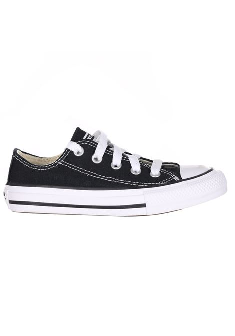 Black sneakers with low cut. Baby model. Brand: Converse CONVERSE | Sneakers | 3J235CBLACK