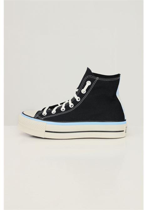 Sneakers ctas lift hi donna nero converse modello stivaletto CONVERSE | Sneakers | 571582C.