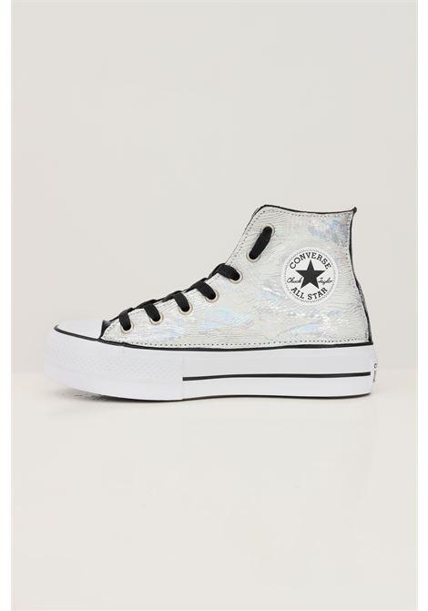 Sneakers all star platform donna silver converse modello stivaletto CONVERSE | Sneakers | 572327C.