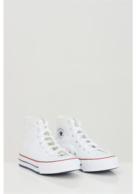 White baby ctas eva lift hi sneakers boot model converse CONVERSE | Sneakers | 671108C.