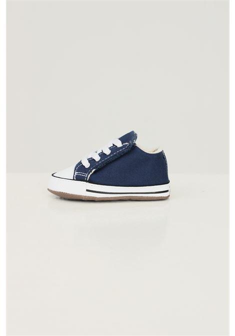 Blue newborn ctas cribster mid sneakers converse CONVERSE   Sneakers   865158C.