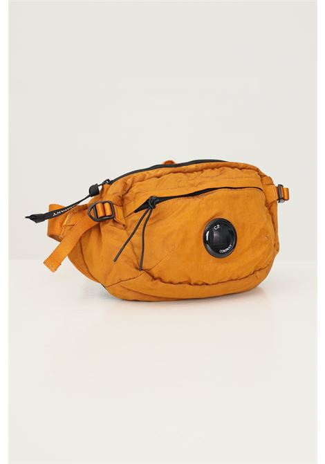 Mustard men's pouch by cp company with distinctive logo on the front C.P. COMPANY | Pouch | 11CMAC112A-005269G436