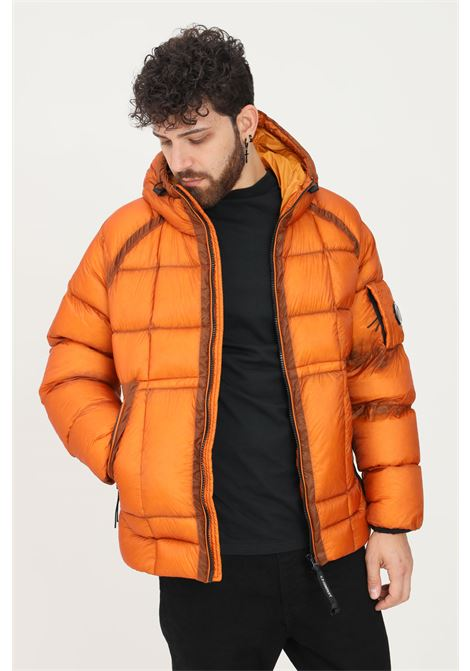 Orange men's jacket by cp company with hood C.P. COMPANY | Jacket | 11CMOW011A-006099A436