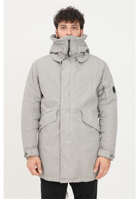 Grey men's 50 fili plated anorak by cp company  C.P. COMPANY | Jacket | 11CMOW209A-005966G917
