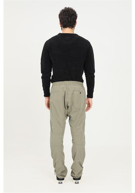 Green men's flatt nylon trousers by CP Company casual model C.P. COMPANY | Pants | 11CMPA236A-005991G665